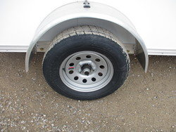 "15"" Radial Tires on Silver Mod Rims"