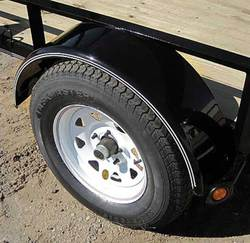 Smooth Plate Round Fenders (weld-on)