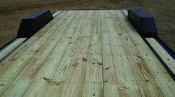 Treated Wood Floor